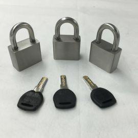 不锈钢挂锁防盗防撬锁头通开挂锁防水防锈不锈钢户外阳台窗锁