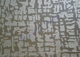 不锈钢蚀刻板,镜面玫瑰金蚀刻,蚀刻甲骨文镀铜