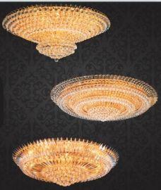 现代水晶吸顶灯