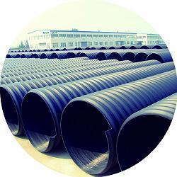 pe钢带管 dn500-2200mm