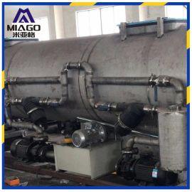 PPR管材牵引机 PVC管材生产线PE塑料薄膜双盘设备