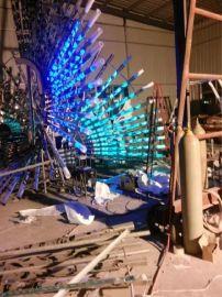 开元环艺雕塑厂家供应铜川市宜君县雕塑灯精品不锈钢雕塑制作园林景观雕塑