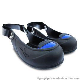 法**克抗200J冲击的防砸安全鞋橡胶鞋套劳保鞋防砸防滑访客鞋套