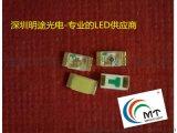 供应 0603红色贴片LED 高亮度细分光 明途光电专业生产