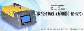 LB-506型五组分汽车尾气分析仪液晶屏幕显示