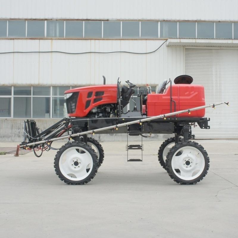 多功能自走式水旱两用喷杆喷雾机 /水田打药机