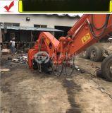 日立挖掘机打钢板桩机、打拔桩机、振动锤