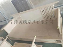 新中式非洲金丝檀北美白蜡木沙发 客厅沙发