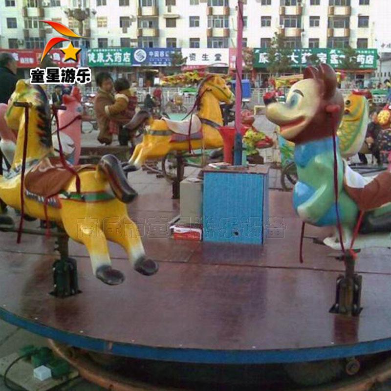 儿童豪华转马 24人豪华转马 童星游乐设备厂家