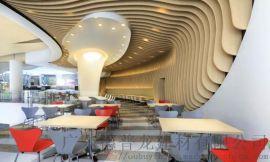 餐厅铝方通厂家-特殊铝合金异形铝方通
