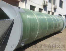 一体化污水提升泵站玻璃钢罐体壁厚