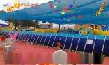 充气水滑梯价格 广场儿童水滑梯生产厂家