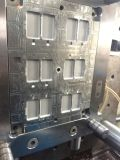 台州日用品模具製造商翻蓋盒子模具餐盒帶皮紋塑料模具