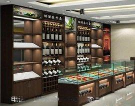 供应烟酒展示柜 烟酒展示柜设计订做
