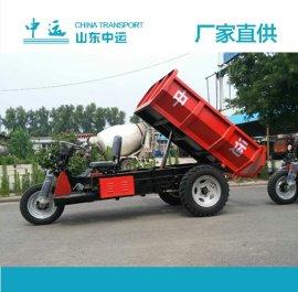 2T电动工程三轮车 三轮车载重 农用电动三轮车