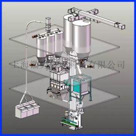 徽隽机电粉体输送配料系统厂家直销——计量  、性能稳定
