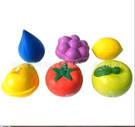 加工定制pu发泡海绵玩具 PU水果工艺品各类造型儿童益智玩具