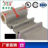 矽膠片散熱矽膠布導熱絕緣矽膠布矽膠片0.3mm厚1米灰色廠家直銷