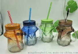 网红咖啡瓶奶茶瓶柠檬汁瓶饮蜂  瓶果 锥形饮料瓶