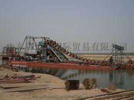 辽宁链斗河道淘金船 朝鲜稀有金属提取设备