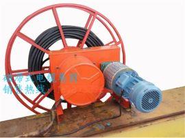 行车专用弹簧收线器 吸盘卷线装置 龙门大卷线盘滚筒