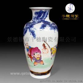 青花瓷赏瓶定制  青花瓷赏瓶生产厂家