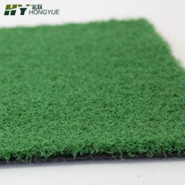 門球場捲曲絲人造草坪PE材質草高1.0cm廠家直銷