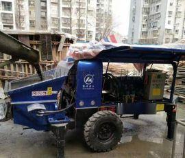无锡细石混凝土泵合作江都建设SK海力士厂房项目