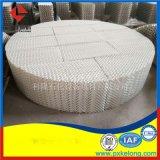 耐強酸耐強鹼耐高溫選用500Y陶瓷波紋陶瓷規整填料