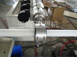PE内衬管挤出机EVA共挤钢管包胶内衬管生产线