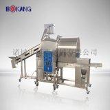 調理肉製品雞肉條、雞米花裹粉機、食品廠常用設備