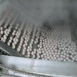 丸子蒸煮漂烫线 丸子蒸煮漂烫流水线 自动丸子生产线