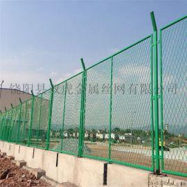 绿色球场网围栏 体育场围网 运动场护栏网