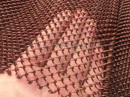 室内幕墙装饰菱形孔金属铁丝网