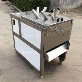 电动切香蕉片机器 香蕉切片机 水果切片厚薄可调