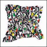 美術作品絲巾(Bezier scarf-1005)