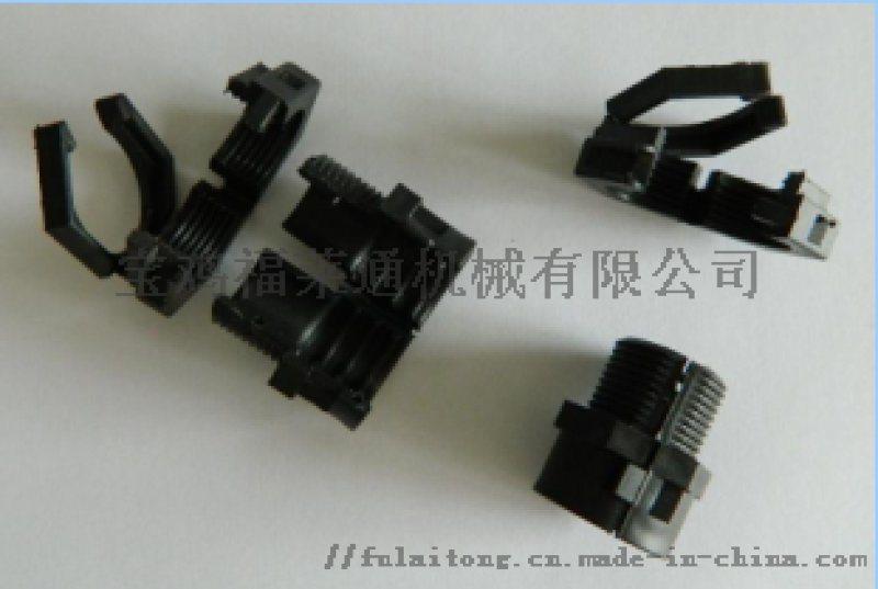可打开式三通接头尼龙PA材质  低价现货销售