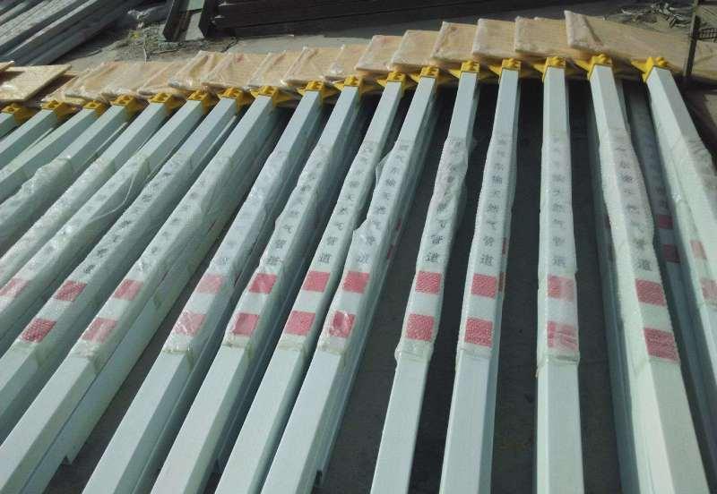 山东燃气标志桩玻璃钢标志牌厂家直销