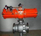 Q647Y-16C/16P气动固定式硬密封球阀