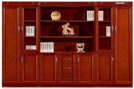油漆木皮书柜文件柜1337系列 绿色环保健康家具