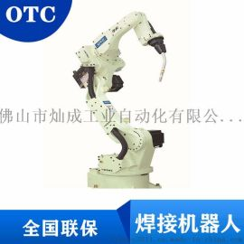 OTC方管圆管自动化焊接六轴焊接机械手经济型焊接机