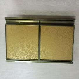 鋁合金櫥櫃門型材晶鋼門現貨供應