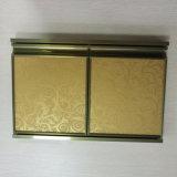 铝合金橱柜门型材晶钢门现货供应