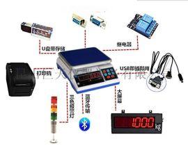 巨天JW-A1+P打印电子桌秤报价