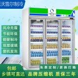 廣東超市便利展示櫃,三門冷藏保鮮櫃,定製商用冷櫃