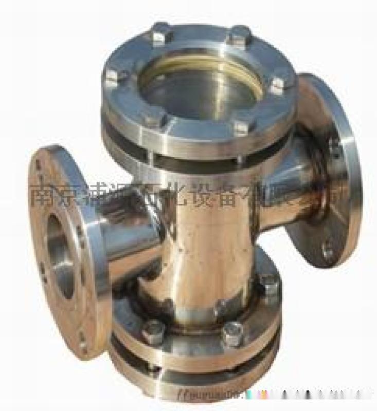 化工管道不锈钢三通视镜