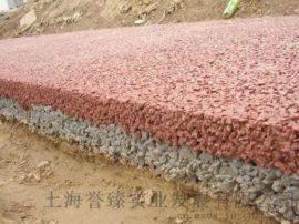 海绵城市透水混凝土施工压花地坪材料价格