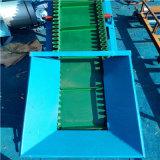 六九重工7米長可整機移動綠色裙邊格擋傳送機LJ8