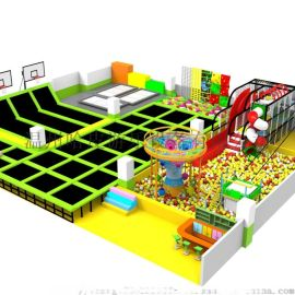大型蹦床/室内儿童跳跳床/蹦床设备厂家/蹦床公园