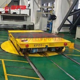 风电能源56吨低压电动台车 自动保护轨道平车